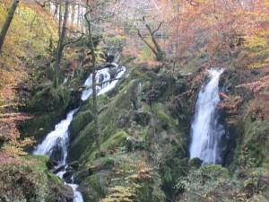 Stockghyll Falls at Autumn