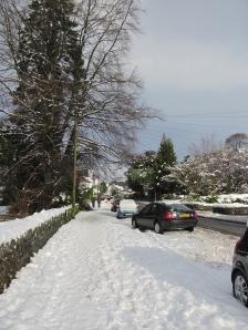 Snowy A591 Ambleside