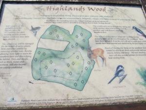 Highland Wood Map