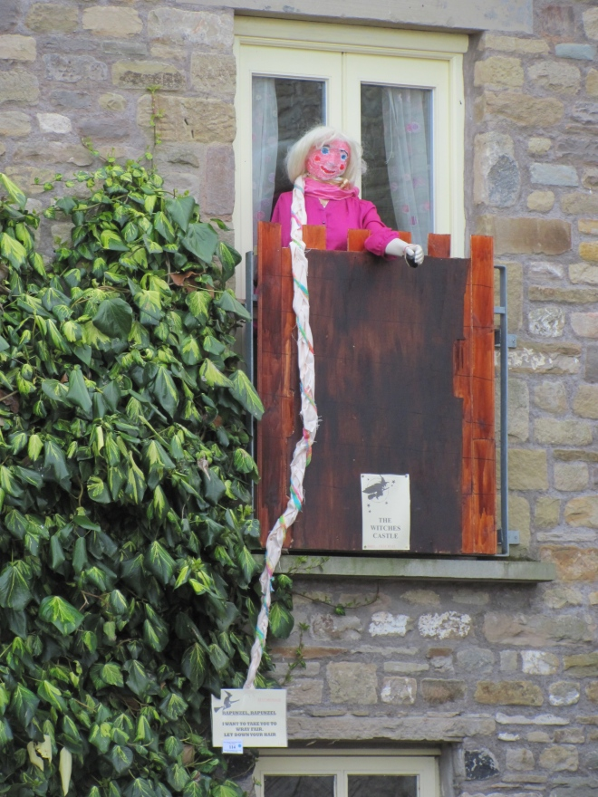 Rapunzel Scarecrow