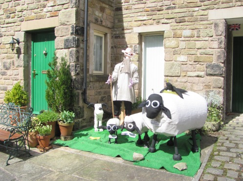 Sheepy Scarecrow