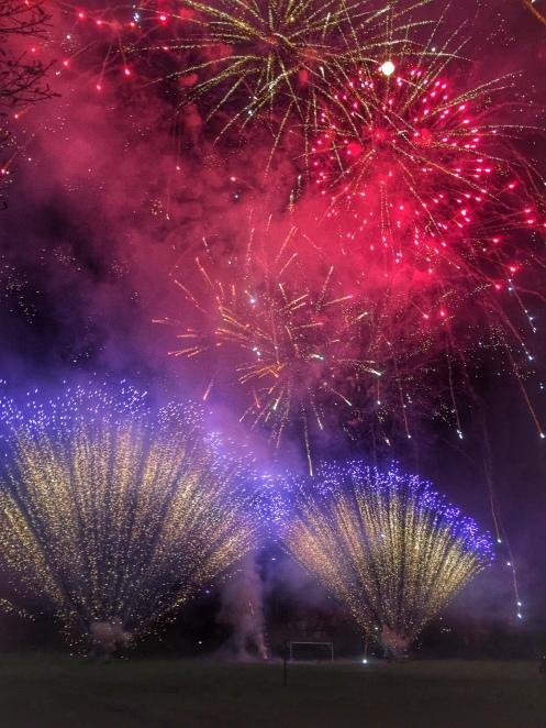 Ambleside Fireworks Finale