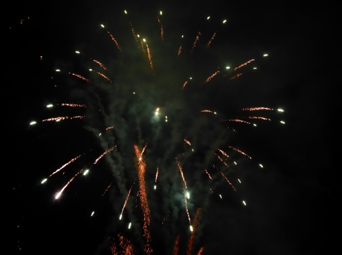 Fireworks in Ambleside