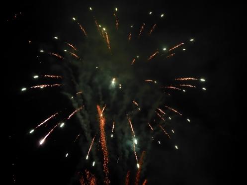 Fireworks in Ambleside