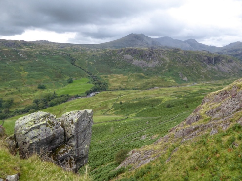 View from Hardknott Fort