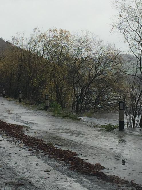 Flooding Ullswater
