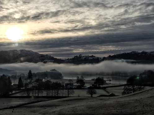 Misty Morning Grasmere