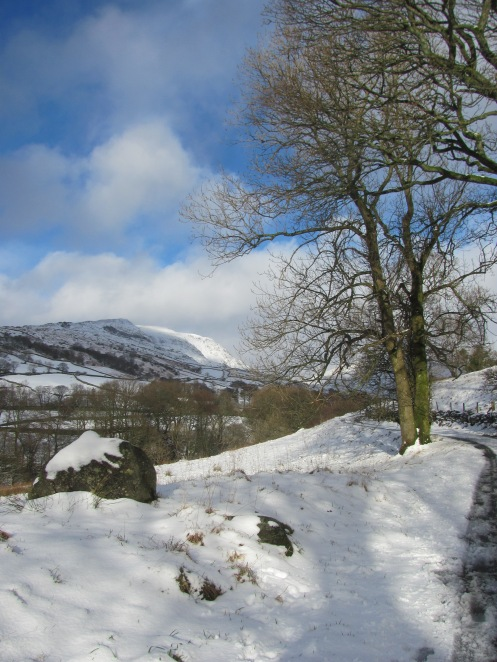 Snowy Stockghyll Lane