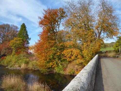 Autumn Colours Isle Bridge