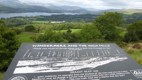 Windermere and High Fells